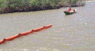 Ibama questiona eficácia das barreiras de contenção nos rios