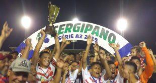 América é campeão invicto da série A 2 do Campeonato Sergipano