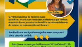 Turismóloga sergipana concorre ao Oscar do Turismo Brasileiro