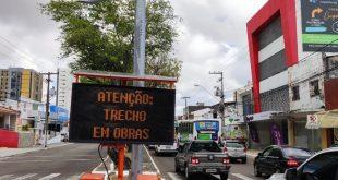 Prefeitura inicia obras na Hermes Fontes; protestos nas redes sociais
