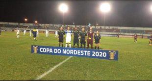 Confiança e Botafogo empatam, enquanto Frei  Paulistano perde para o Náutico, na Copa do Nordeste