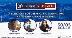 O exercício e os desafios do jornalismo na pandemia e pós-pandemia