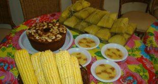 Alimentação e festejos juninos
