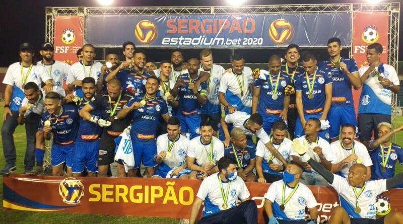 confiança campeão 21.08.2020 - Só Sergipe