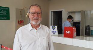 """""""O NB Hotel é uma marca que já tem uma repercussão muito satisfatória no mercado"""", garante Dary Rigueira, gerente geral do empreendimento"""