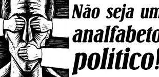 A política é a higiene dos povos moralmente sadios!