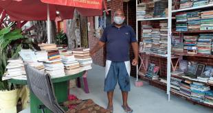 Do limbo ao livro:  a história de um aracajuano que foi ao fundo do poço e se recupera vendendo livros usados