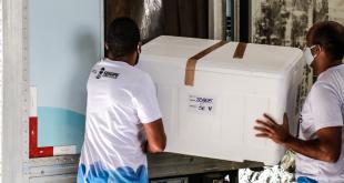 Estado encaminha nova remessa da Coronavac para os 75 municípios sergipanos