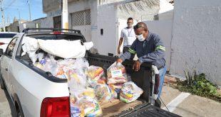 Prefeitura reforça distribuição de kits de alimentação em instituições de matriz africana