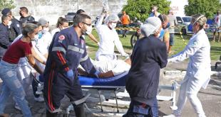 Vinte e três jornalistas que trabalharam na cobertura do incêndio do Nestor Piva estão com Covid-19