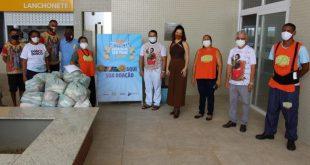Cestas básicas foram coletadas durante a 'Campanha junina arrasta-pé sem fome'