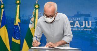Prefeito sanciona lei que autoriza município a contratar financiamento de US$ 84 milhões para obras