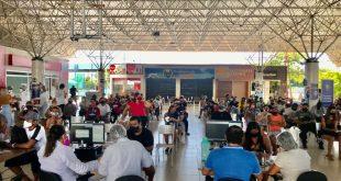 Aracaju vacina 12.672 pessoas contra Covid no primeiro dia de repescagem geral