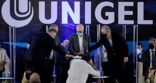 """""""Somos ricos em gás e minérios e seremos referência para o país agora e nos próximos anos"""", diz Belivaldo na inauguração da Unigel"""
