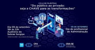 CRA-SE prepara programação para comemorar o Dia do Profissional da Administração