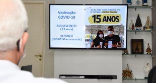 Covid-19: Aracaju vacinará adolescentes de 15 anos e ampliará reforço para idosos