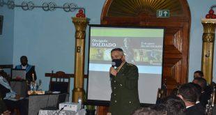 Comandante do 28 BC faz palestra na Loja Maçônica Clodomir Silva